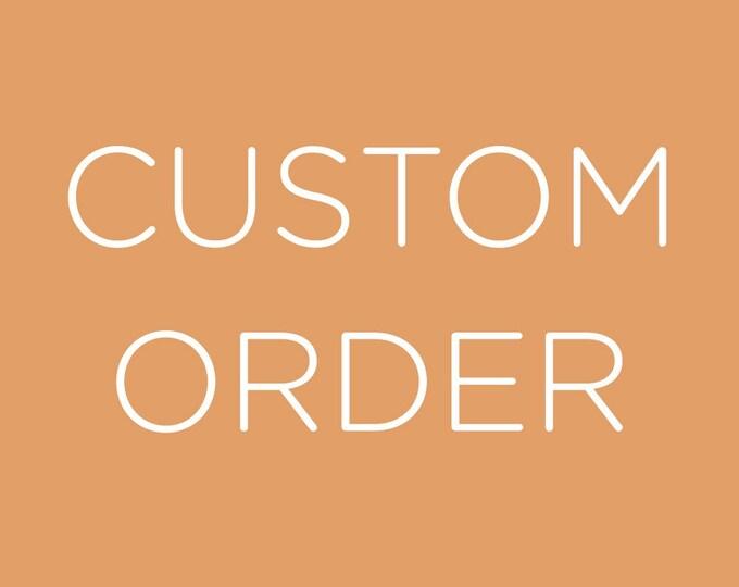 Custom Add on for order 1589849439