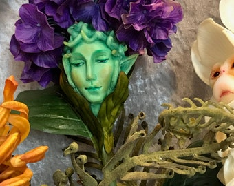 "Alice in Wonderland Flowers ""LUXE"" EDITION Queen Mother Hydrangea SUTHERLAND ~ Guardians of the Garden"