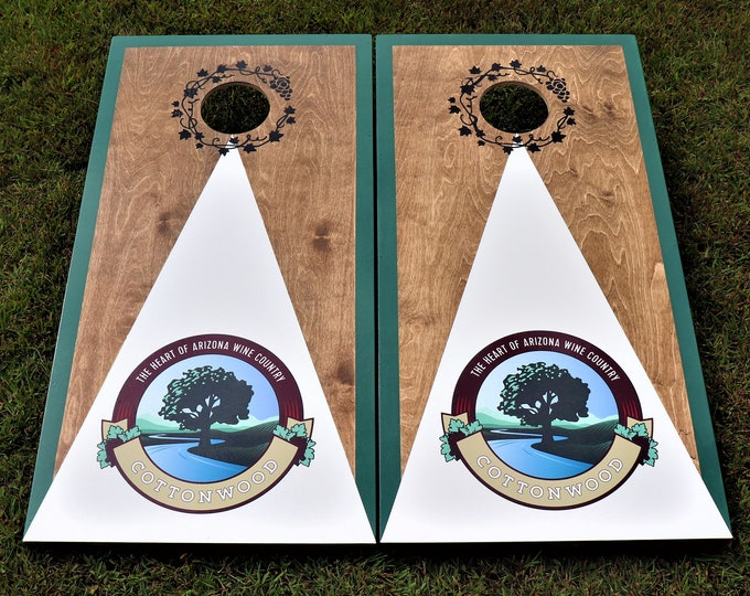 Custom Cornhole Boards with 8 Bags