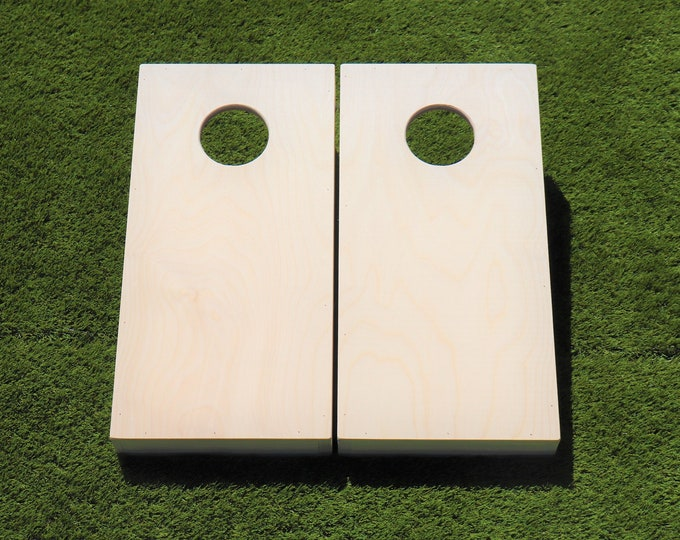 Mini/Kids Unfinished Cornhole Boards with bags included|Kids Wedding Game|BagToss|CornToss|Baggo|Lawn Games|Christmas Gifts|Birthday