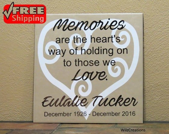 Name tile|Remembrance Tile|Remembrance Gift|In Memory Of|Loss of Grandparent Parent|Loss of Baby|Loss of Life|Loss of Brother|Loss of Sister