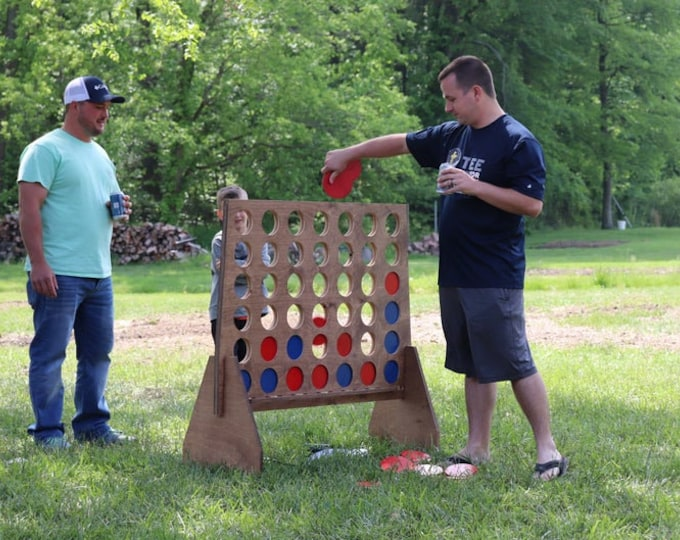 "Giant 48"" Connect 4 Game with Discs"