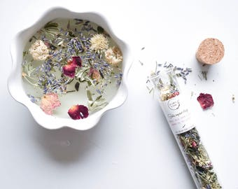 Facial steam - organic and french medicinal herbs
