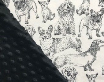 0b99d3893e2b Personalized Dogsl Print Blanket