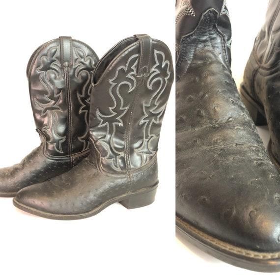 MENS LAREDO Classic Cowboy Boots Size 9 D