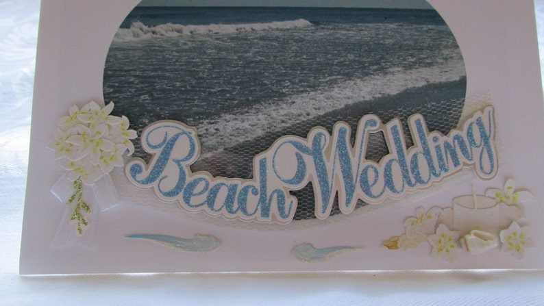 photo by Designer May your Wedding be the beginning of a wonderful adventure Beach Wedding