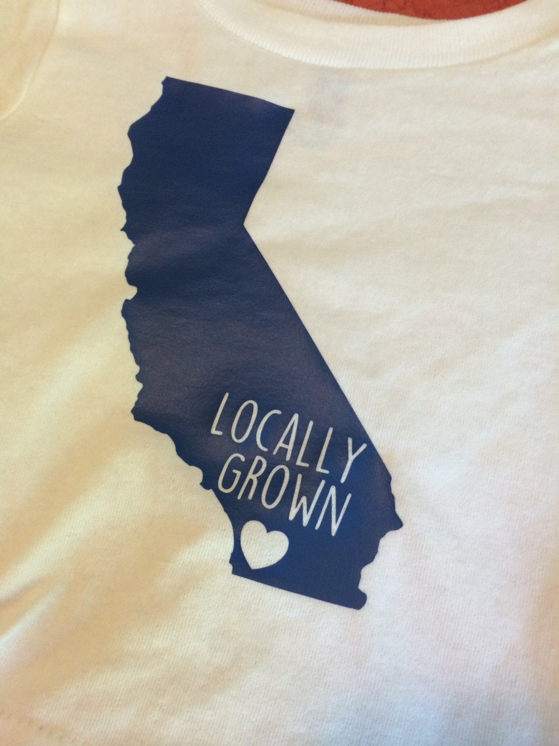 Locally Grown In California San Diego Fully Customizable Etsy