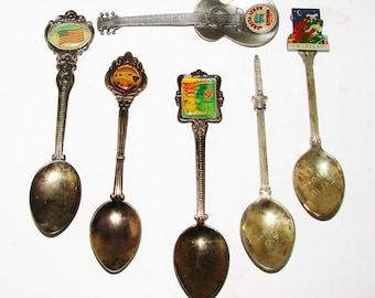 Souvenir Spoons Larger Size Old