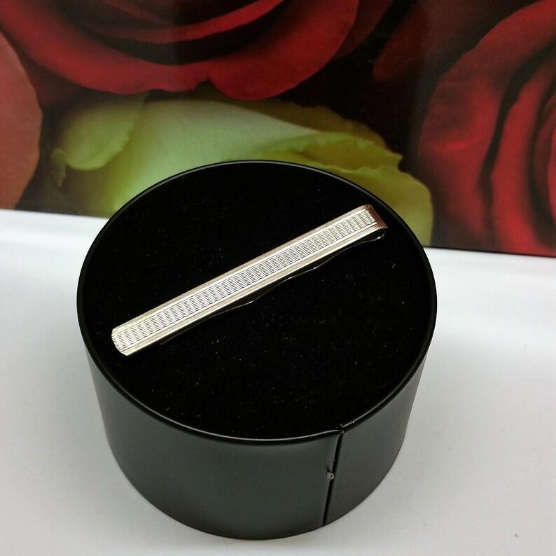 Tie Clip tie needle clip Silver 835 Art Deco KN141