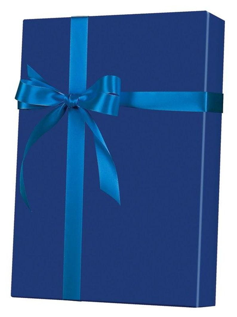 Birthday Wrapping Paper Gift Wrap for Men Navy Ultra Gloss Gift Wrap Gift Wrap Roll Father/'s Day Wrapping Paper Heavy Duty Paper |