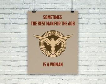 Marvel's Agent Carter - DIGITAL DOWNLOAD - Woman is best man for job