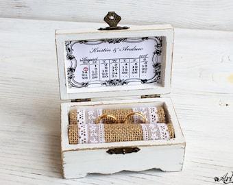 Wedding Box ring box ring bearer pillow alternative ring bearer box proposal ring box engagement ring box personalized box wedding box