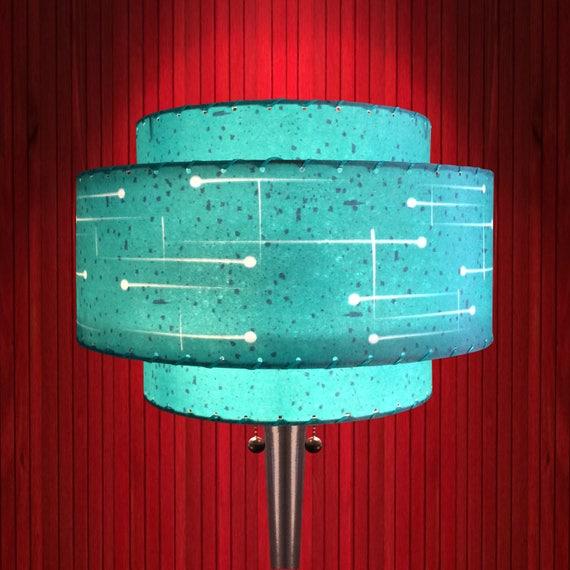 Turquoise lamp shade   Etsy