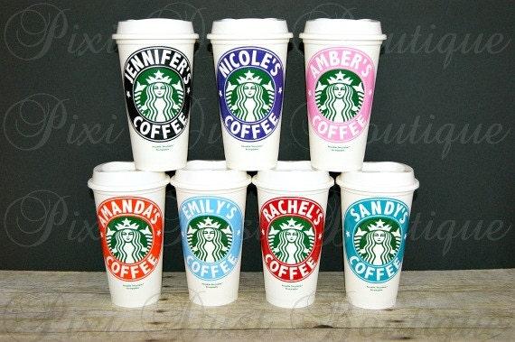 starbucks coffee mugs personalized starbucks cups starbucks etsy
