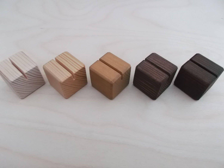 20 kleine Tischkartenhalter hochzeitsdeko Tisch Nummer | Etsy