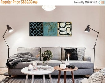 Memorial Closeout Sale 3 in one Abstract Canvas Print