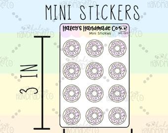 Donut Mini Stickers MS 005