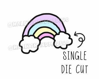 Rainbow Die Cut