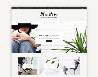 Responsive Wordpress Theme | Parker | Blog and eCommerce Design | Self-Hosted WordPress.org