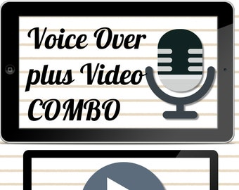Video Presentation with Voice Over, Powerpoint Slide Presentation Style, HD, Images, Music