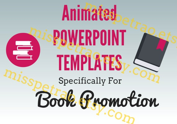 Power Point Templates To Promote Your Book Books Replace Text And Images With Yours Etc