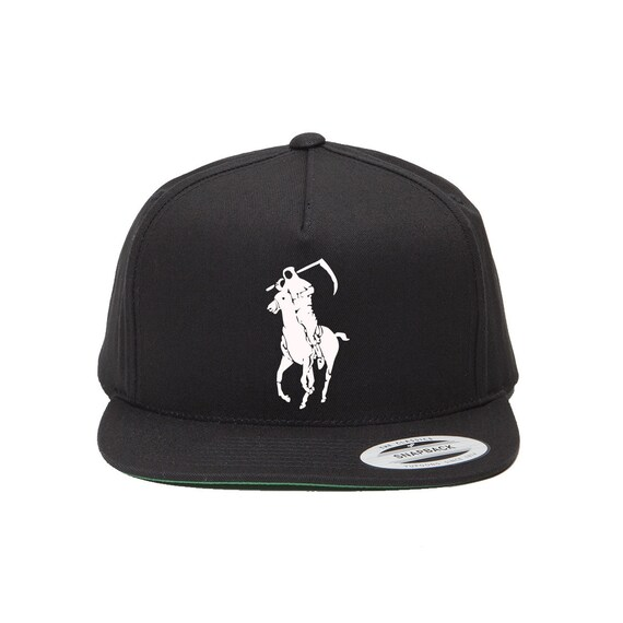 Grim Reaper Polo Japan Very Rare snapback by Dope Premium  a968fb09821