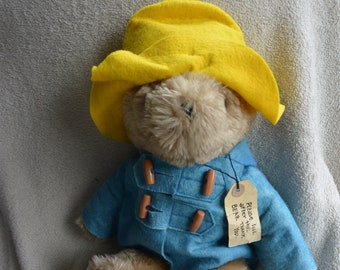 Paddington Stuffed Bear