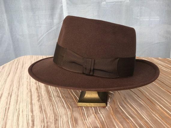 Vintage 1940s Sinatra Style -Brown Rockabilly  Bea