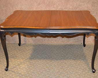 vintage dining table etsy