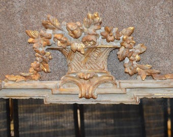 Vintage Carvers Guild Ornate Decorative Wall Mirror