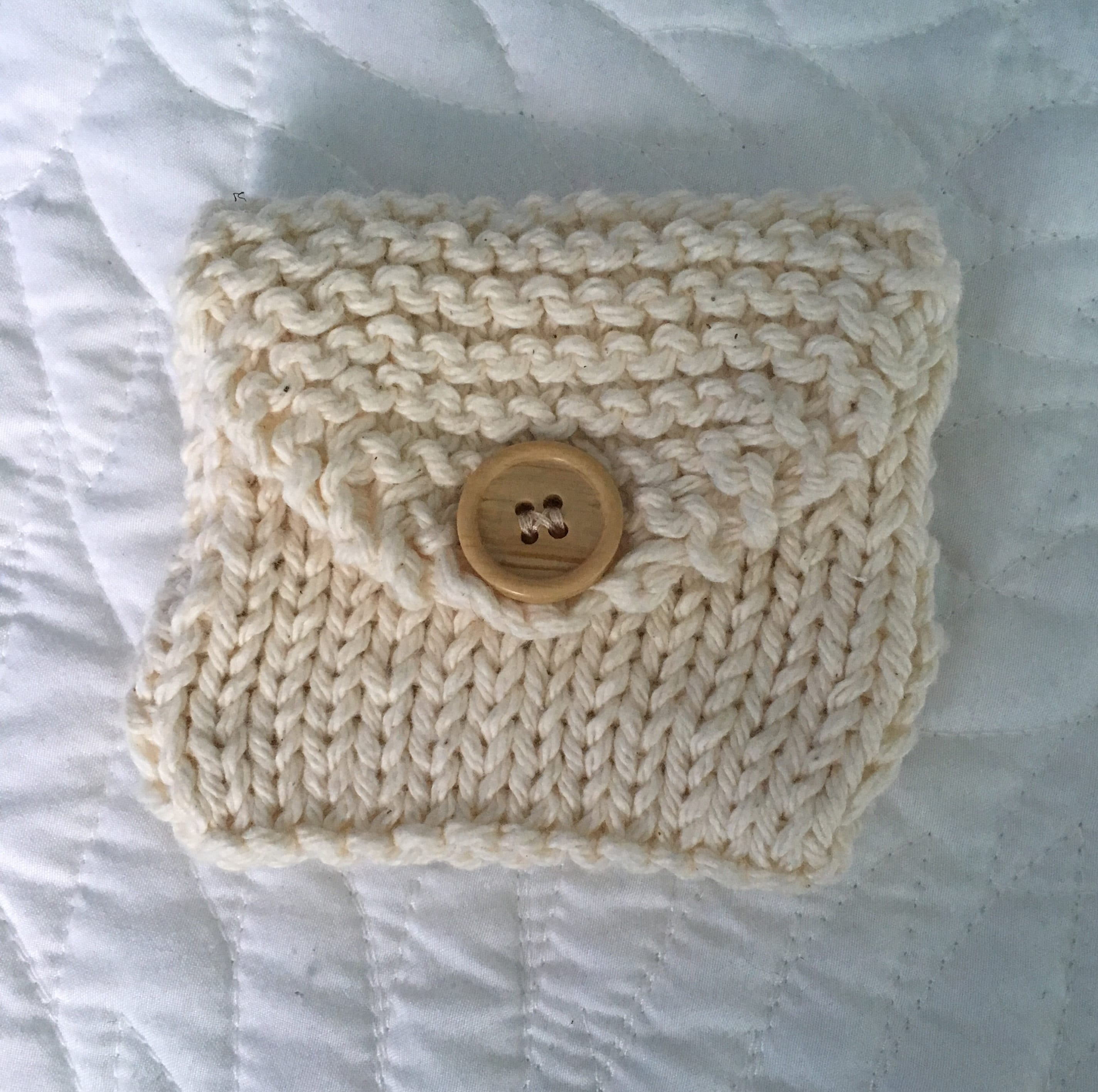 Knit Coin Purse   Etsy
