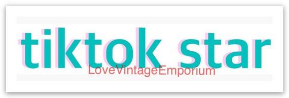 Aesthetic Blue Tik Tok Logo