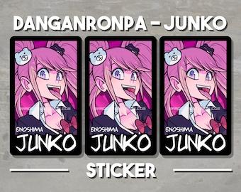"Danganronpa - Junko  2.75""x4"" Vinyl Matte Sticker"