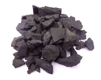 Shungite water filter /raw Shungite stones purification Nature filter protection activation natural filter water cleaning stone healing
