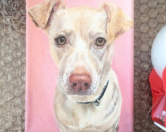 Custom Pet Portrait- Acrylic Painting