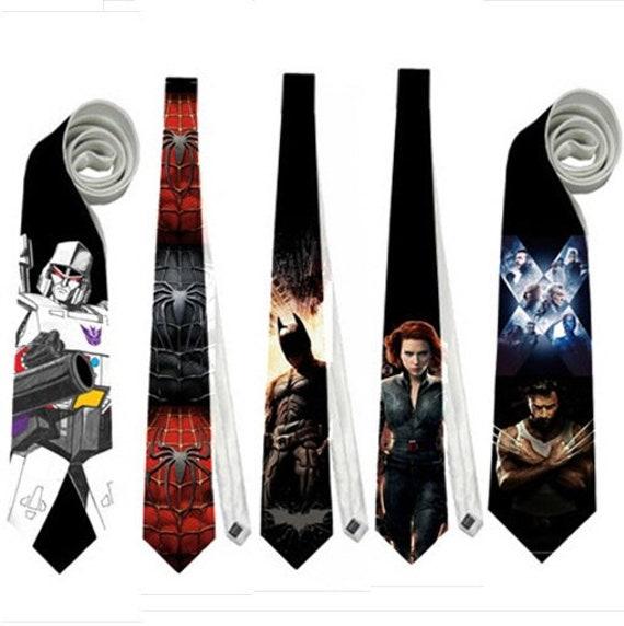Geek Gift Christmas Gift Wedding Tie Nerd Tie Dr Strange Silk Tie Slim Tie