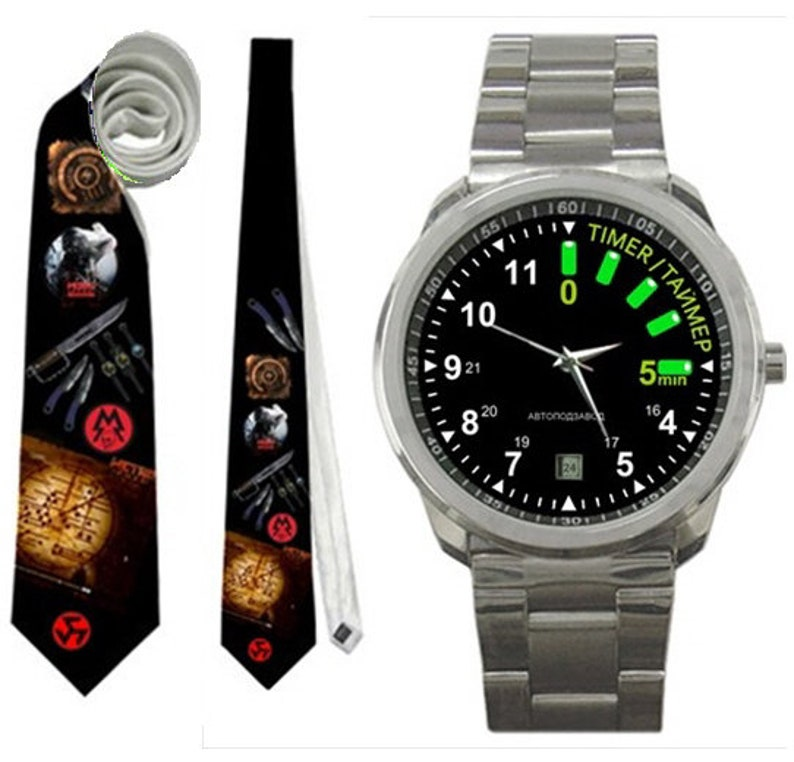Watch Or And Necktie Metro 2033 Gamer Birthday Present