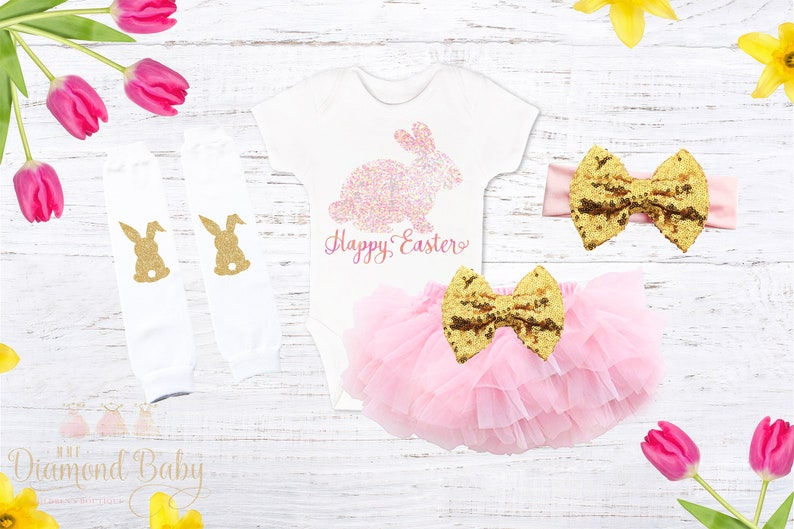 Baby First Easter outfit Easter FREE SHIPPING-My First Easter Outfit First Easter outfit Baby Easter outfit-Baby Girl Easter Outfit