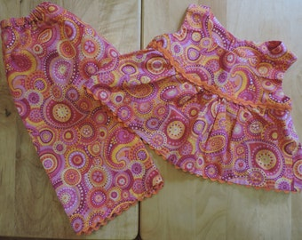 Paisley Summer 2 Piece Outfit Toddler 18-24 month