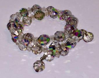 Gray Crystal Bracelet