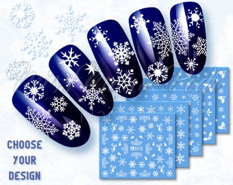 Nail Decal Etsy