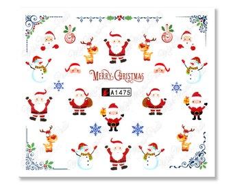 Grossman/'s Stickers Mrs White Snowman in Scarf Happy Snowmen 4 Strips