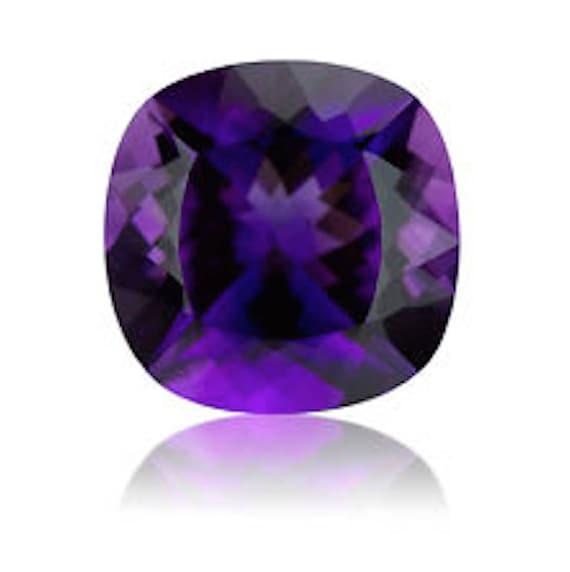 13mm x 11mm Natural Amethyst Deep Purple Oval Cabochon Gem Gemstone