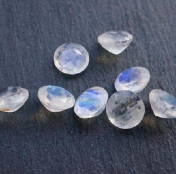 5x3mm - 18x13mm Natural Grey Moonstone AAA Oval Cabochon Loose Gemstones