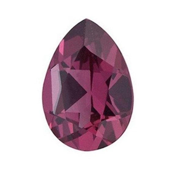 3x3mm - 7x7mm Genuine Natural Rhodolite Garnet AAA Trillion Loose Gemstones