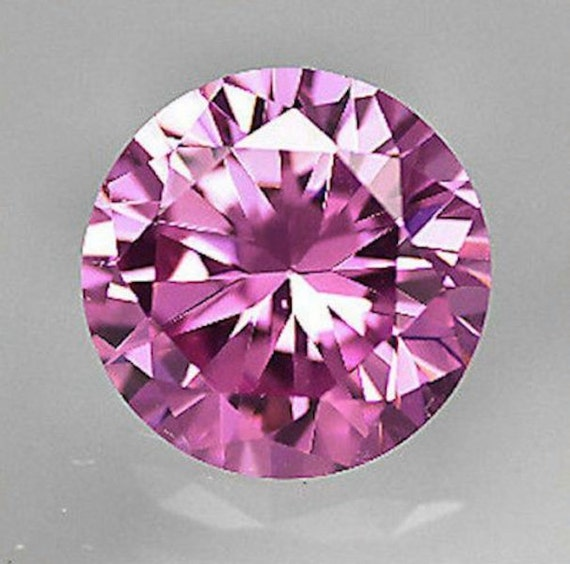 5 Pcs Zirconia 10 x 8 mm Oval AAA Pink Cz Quality AAA Cz round Pink