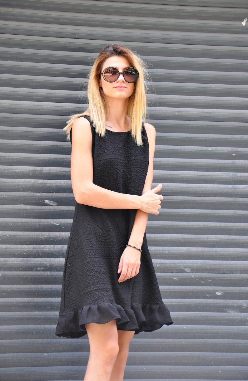 893261795f89 Little Black Dress Party dress Loose dress Prom dress Black