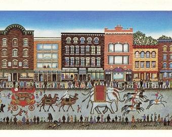 Postcard Daytime Circus Evening theatre!