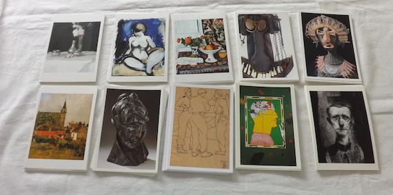 100 Different Brand New Art Postcards by Famous Artists PC467