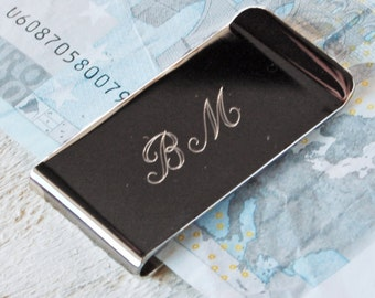 Classic Money Clip - Birthday Gift, Father's Day, Anniversary, Graduation, Father's Day Present